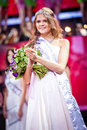 Miss Russia 2010 beauty contest Stock Photography