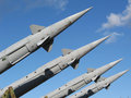 Missiles Royalty Free Stock Photo