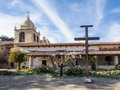 Mission carmel is a roman catholic church in by the sea california Stock Image