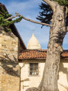 Mission carmel is a roman catholic church in by the sea california Stock Photography