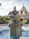 Mission carmel is a roman catholic church in by the sea california Royalty Free Stock Photos