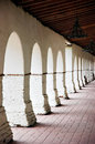 Mission Portico Royalty Free Stock Photos