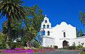 Mission san diego de alcala first california Stock Photo