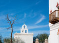 Mission San Xavier Church Royalty Free Stock Photo