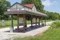 Missouri Katy Trail park Royalty Free Stock Photo