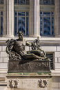 Missouri State Capital Statue Royalty Free Stock Photo