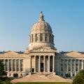 Missouri State Capitol Royalty Free Stock Photo