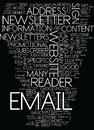 Mistakes Made In Email Opt Text Background  Word Cloud Concept Royalty Free Stock Photo