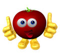 Mister fruit character Stock Photography