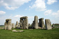 Misterious Stonehenge Stock Image