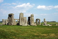 Misterious Stonehenge Royalty Free Stock Image