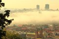 Misty Prague Stock Photography