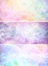 Misty Sparkling Pastel Colored...