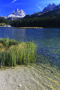 Misurina Lake Stock Photo