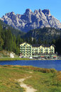 Misurina Lake Royalty Free Stock Images