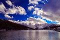Misurina Lake In A Winter Even...