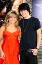 Mitchel Musso,Shawn Johnson Royalty Free Stock Photo