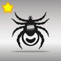 Mites black Icon button logo symbol