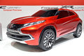 Mitsubishi concept car Royalty Free Stock Photo