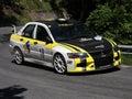 Mitsubishi evo 9 RC rally car Royalty Free Stock Photo