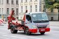 Mitsubishi Fuso Canter Royalty Free Stock Photo