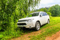 Mitsubishi Outlander Royalty Free Stock Photo