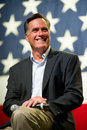 Mitt romney appears at a town hall meeting in mesa az june former massachusetts governor on june arizona Stock Photography