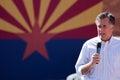 Mitt Romney Campaigns In Arizona Before Hispanics