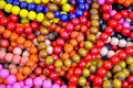 Mix of colorful beads Royalty Free Stock Photography