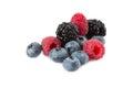 Isolated fresh berries