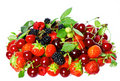 Mix of fresh berries Royalty Free Stock Photography