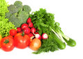 Mix of fresh vegetables Stock Image