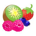 Mix Fruits Stock Photos