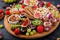 Mix fruits and nuts, healthy diet, Turkish sweets Royalty Free Stock Photo