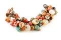 Mix gem bracelet Royalty Free Stock Photo