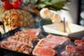 Mix grill Stock Photography