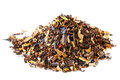 Mix of mate, black tea, and red rooibos Stock Photography