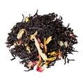 Mix of rose petals, sunflower, almond and black tea.