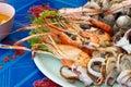 Mix Sea Food On Disc