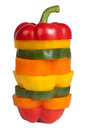 Mixed bell pepper Royalty Free Stock Photo