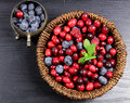 Mixed berries Royalty Free Stock Photo