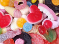 Mixed Candy Royalty Free Stock Photo