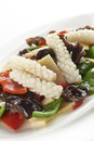 Mixed Chinese salad Stock Photography
