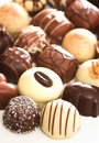 Mixed Chocolates Royalty Free Stock Images