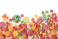 Mixed colorful fruit bonbon Royalty Free Stock Photo