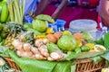 Fruits and vegetables closeup - food macro