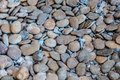 Mixed grey and brown stones Royalty Free Stock Photo