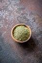 Mixed Italian Herbs Seasoning Royalty Free Stock Photo
