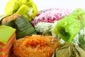 Mixed Malay Cake Royalty Free Stock Photo