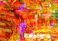 Mixed media on canvas nice image of an original abstract oil painting Royalty Free Stock Photos
